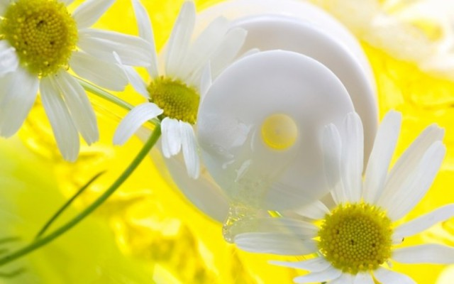 DIY – Chamomile face cream for sensitive, oily and combination skin type.