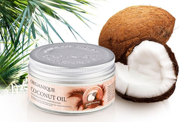 Coconut oil by Organique.