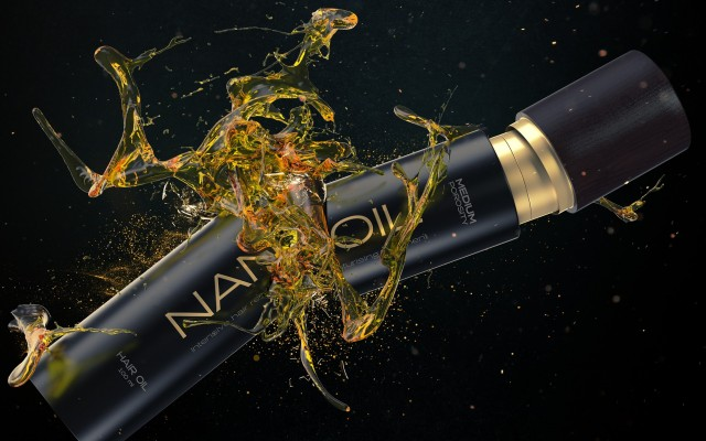 Two steps away from beautiful hair. Meet power of nature with Nanoil hair oil!
