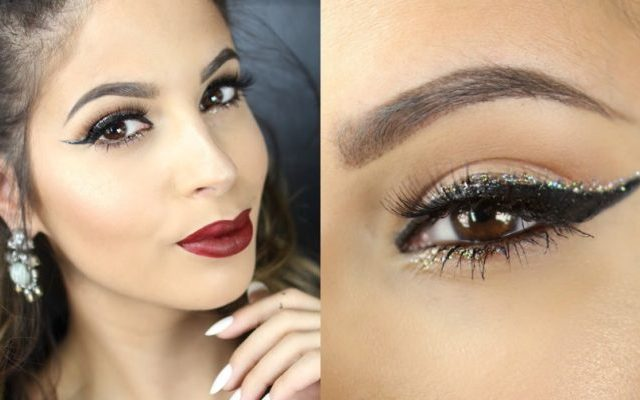 New Year's Eve make-up ideas