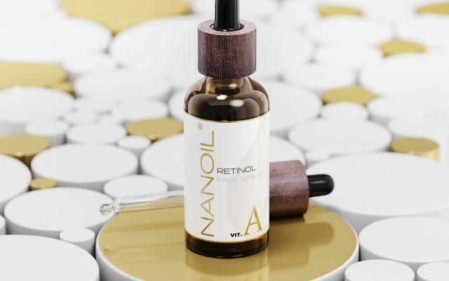 Nanoil face serum with retinol. Mesmerizing effect of youthful skin!